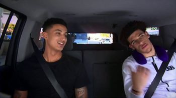 Uber TV Spot, 'Rolling With the Champion' Featuring Lonzo Ball, Kyle Kuzma - Thumbnail 8