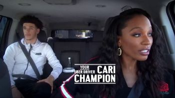 Uber TV Spot, 'Rolling With the Champion' Featuring Lonzo Ball, Kyle Kuzma - Thumbnail 2