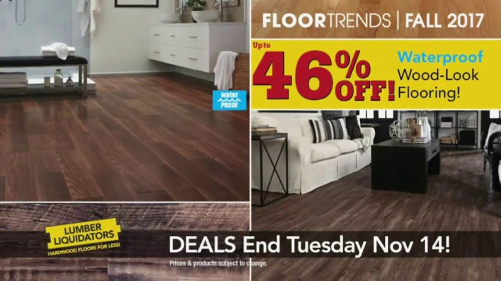 Lumber Liquidators TV Commercial, 'Get It Done B4 the Holidays'