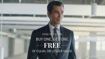 JoS. A. Bank Buy One, Get One Free Sale TV Spot, 'Make an Entrance' - Thumbnail 2