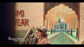 Incredible India TV Spot, 'Fashion' Featuring Emma Puttick