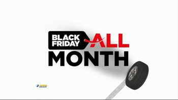 National Tire & Battery Black Friday All Month TV Spot, 'Four Tires'