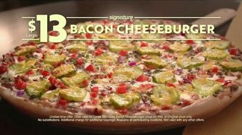 Papa Murphy's Signature Bacon Cheeseburger Pizza TV Spot, 'Law of Un-Baked' - Thumbnail 10
