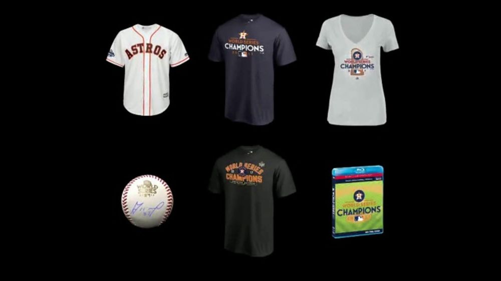new style 7ce45 6d288 MLB Shop TV Commercial, 'Houston Astros: World Series Champions' - Video