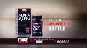 Force Factor Alpha King TV Spot, 'Energy, Passion & Drive' Feat. Bo Jackson - Thumbnail 3
