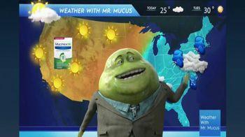Mucinex DM TV Spot, 'Mucus Report' - 959 commercial airings