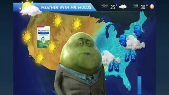 Mucinex DM TV Spot, 'Mucus Report' - Thumbnail 1