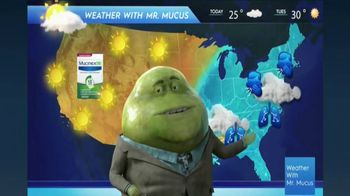 Mucinex DM TV Spot, 'Mucus Report' - Thumbnail 2