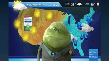 Mucinex DM TV Spot, 'Mucus Report' - Thumbnail 3