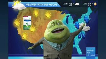 Mucinex DM TV Spot, 'Mucus Report' - Thumbnail 8