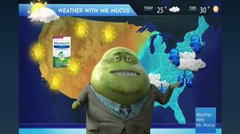 Mucinex DM TV Spot, 'Mucus Report' - Thumbnail 9