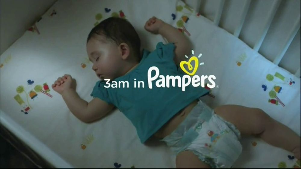 Pampers Baby Dry TV Commercial, '3 a m ' - Video