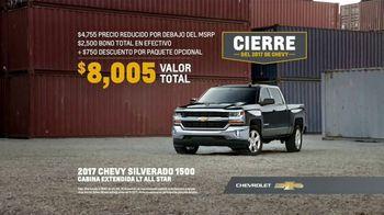 Cierre del 2017 de Chevy TV Spot, '2017 Silverado 1500' [Spanish] [T2] - Thumbnail 7
