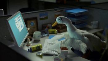 Aflac DuckChat TV Spot, 'Working Overtime'