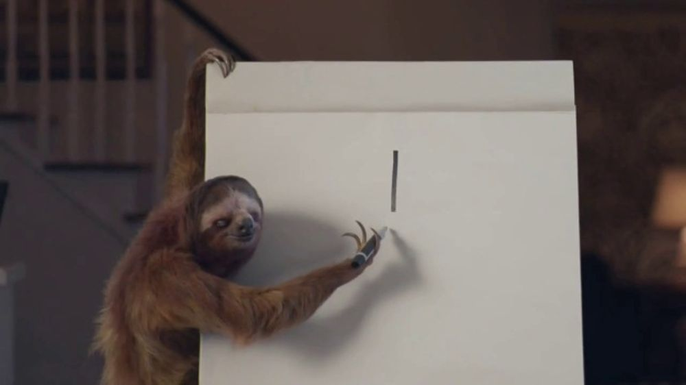 GEICO TV Commercial, 'Game Night With a Sloth' - iSpot.tv