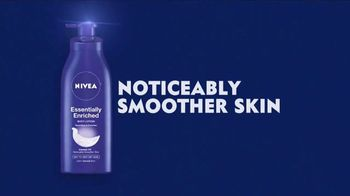 Nivea Essentially Enriched Body Lotion TV Spot, 'Moisturize for 24 Hours'