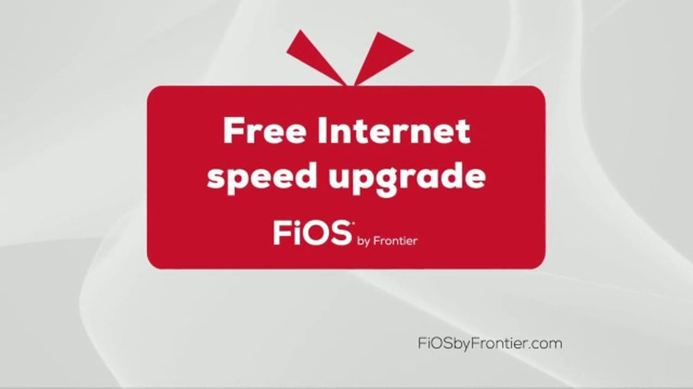 FiOS by Frontier TV Commercial, 'Unwrap a Speed Upgrade'