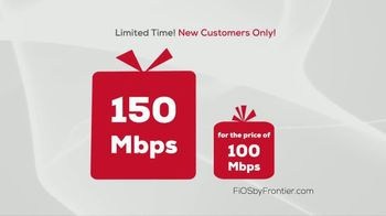 FiOS by Frontier TV Spot, 'Unwrap a Speed Upgrade' - Thumbnail 2
