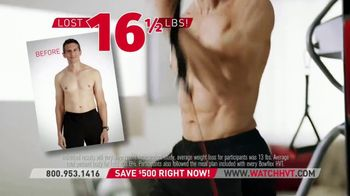 Bowflex HVT TV Spot, 'Reshape the Body: Black Friday' - Thumbnail 5