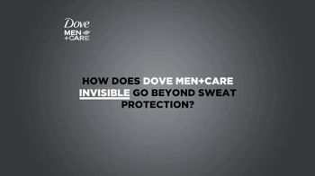 Dove TV Men + Care Invisible Spot, 'Beyond Sweat Protection'