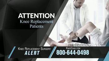 Knee Replacement Surgery Alert thumbnail