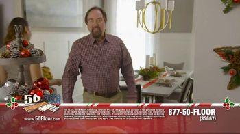 50 Floor 60% Off Sale TV Spot, 'New Floors for the Holidays' - Thumbnail 1