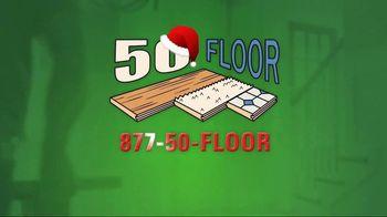 50 Floor 60% Off Sale TV Spot, 'New Floors for the Holidays' - Thumbnail 8