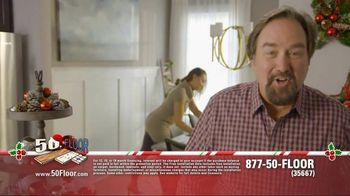 50 Floor 60% Off Sale TV Spot, 'New Floors for the Holidays' - Thumbnail 2