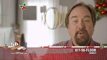 50 Floor 60% Off Sale TV Spot, 'New Floors for the Holidays' - Thumbnail 4
