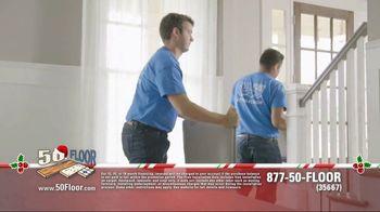 50 Floor 60% Off Sale TV Spot, 'New Floors for the Holidays' - Thumbnail 5