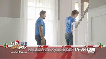 50 Floor 60% Off Sale TV Spot, 'New Floors for the Holidays' - Thumbnail 6