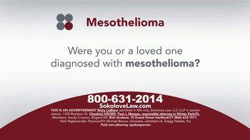 Sokolove Law TV Spot, 'Mesothelioma: Asbestos Exposure' - Thumbnail 1