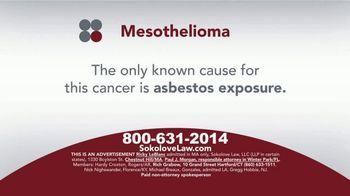 Sokolove Law TV Spot, 'Mesothelioma: Asbestos Exposure' - Thumbnail 2
