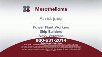 Sokolove Law TV Spot, 'Mesothelioma: Asbestos Exposure' - Thumbnail 3