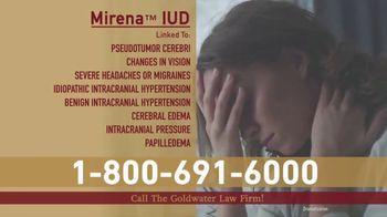 Goldwater Law Firm TV Spot, 'Mirena IUD'