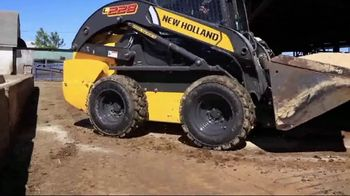 New Holland Year-End Celebration TV Spot, 'Light Construction Equipment'