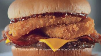 Dairy Queen Western BBQ Bacon Cheeseburger $5 Buck Lunch TV Spot, 'Go West' - Thumbnail 8