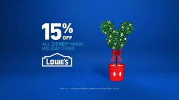 Lowe's TV Spot, 'The Moment: Snowman' - Thumbnail 10