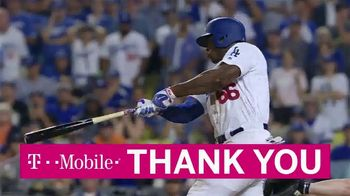 T-Mobile TV Spot, 'Home Runs for Hurricane Recovery: Thank You' - 1 commercial airings
