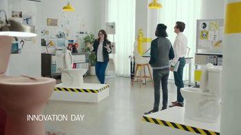 American Standard VorMax Plus Self-Cleaning Toilet TV Spot, 'Engineered' - 434 commercial airings