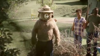 Smokey Bear Campaign TV Spot, 'Burning Debris' - Thumbnail 8