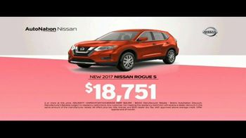 AutoNation Nissan TV Spot, 'Coast to Coast: 2017 Rogue S' - 204 commercial airings
