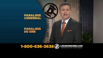 Los Defensores TV Spot, 'Parálisis cerebral' con Jorge Jarrin [Spanish] - 31 commercial airings