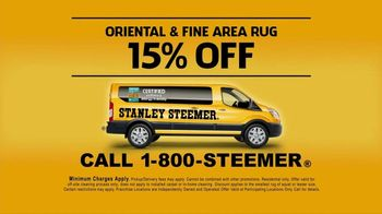 Stanley Steemer TV Spot, 'Oriental and Fine Area Rugs' - Thumbnail 8