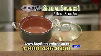 Gotham Steel Pan TV Spot, 'Titanium Ceramic Surface' Featuring Daniel Green - Thumbnail 9
