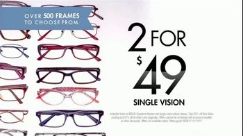 Visionworks TV Spot, 'Two Pairs for $49' - Thumbnail 3