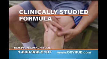 OxyRub TV Spot, 'Feel the Amazing Difference'
