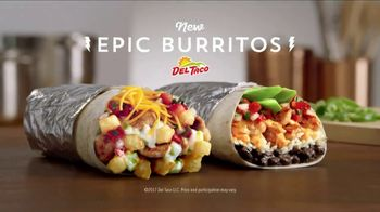 Del Taco Epic Burritos TV Spot, 'Grilled in Our Kitchens'