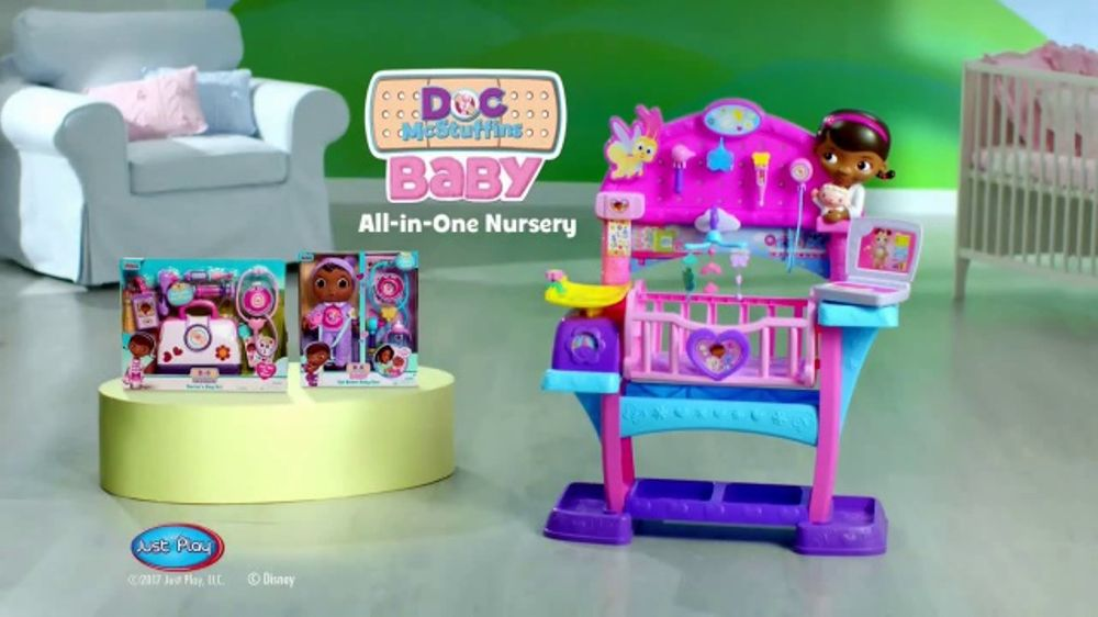 Baby Toy Commercial : Doc mcstuffins baby all in one nursery tv commercial toy
