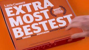 Little Caesars EXTRAMOSTBESTEST Pizza TV Spot, 'Audience Participation' - Thumbnail 1